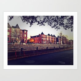 Resident District Art Print