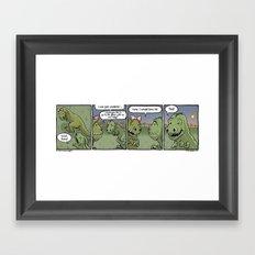 Fate Date Framed Art Print
