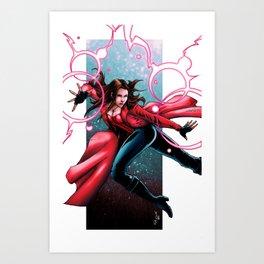 Scarlet Witch - Wanda Maximoff Art Print