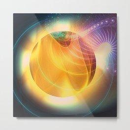 Light Creation Metal Print
