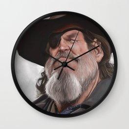 Jeff Bridges – True Grit Wall Clock