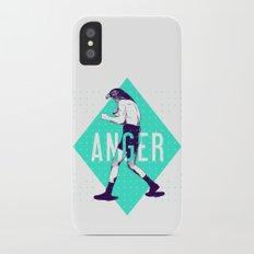 Anger iPhone X Slim Case