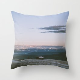 Living the dream - Landscape and Nature Photography Throw Pillow