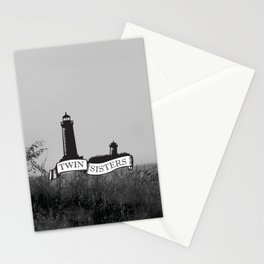 Twin Sisters Stationery Cards