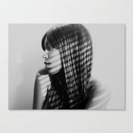 Gray Canvas Print