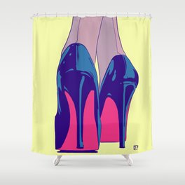 heels Shower Curtain