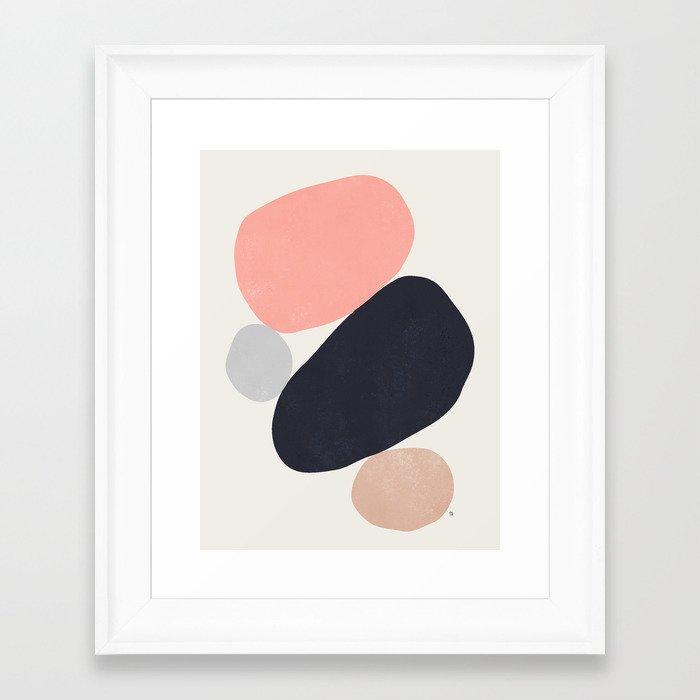 Balance VI Framed Art Print