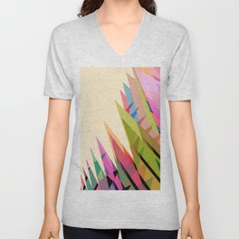 Abstract Composition 616 Unisex V-Neck