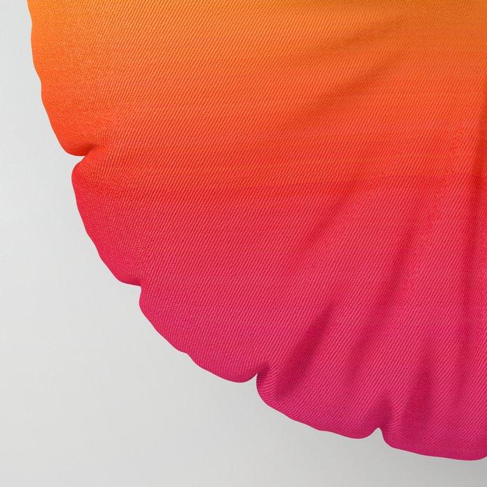 sunSET Ombre Gradient Floor Pillow