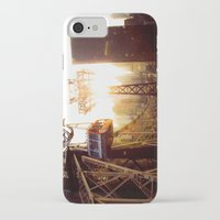 hook iPhone & iPod Cases featuring Hook, Line & Sinker by Phil Provencio