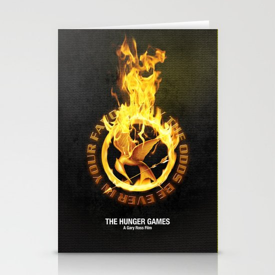 Hunger games 2 Stationery Cards