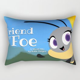 Friend Or Foe - Trish Rectangular Pillow
