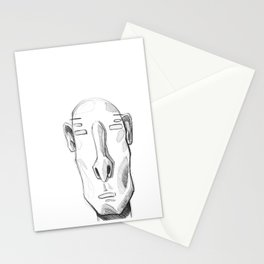 Head sketch 01 Stationery Cards