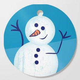 Happy Winter Cutting Board