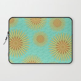Summer Flowers - Blue Laptop Sleeve