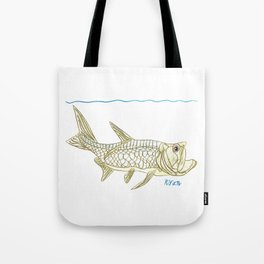Key West Tarpon II Tote Bag