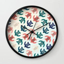 Baby Leatherbacks Wall Clock
