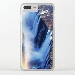 Mosi-oa-Tunya: Rainbow Clear iPhone Case