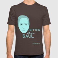 Breaking Bad - Faces - Saul Brown LARGE Mens Fitted Tee