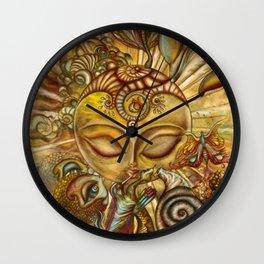 La verdadera grandeza/the true greatness Wall Clock