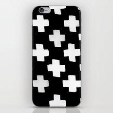 Criss Cross Pattern iPhone Skin