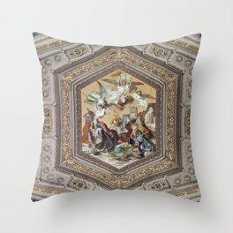 Vatican V, Rome Throw Pillow