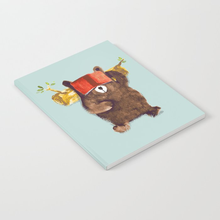 No Care Bear - My Sleepy Pet Notebook