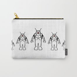 Eyebots on March Carry-All Pouch