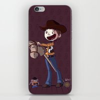 toy story iPhone & iPod Skins featuring Woody Toy Story by Kaori