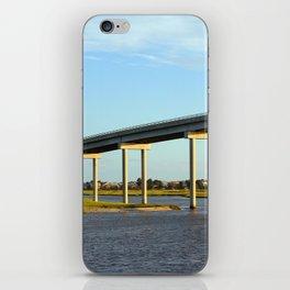 Bridge To The Sea iPhone Skin