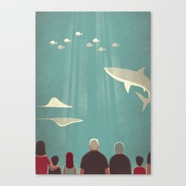 Day Trippers #9 - Aquarium Canvas Print