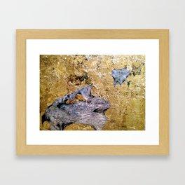 Citrinitas III Framed Art Print