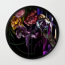 paradise.corrupt_section.D Wall Clock