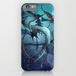 The God of the Ocean iPhone Case