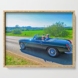 Countryside Drive Serving Tray