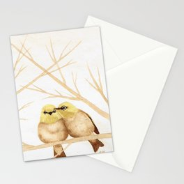 Silver Eye Kiss Stationery Cards
