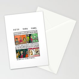 Deep Dark Fears 138 Stationery Cards