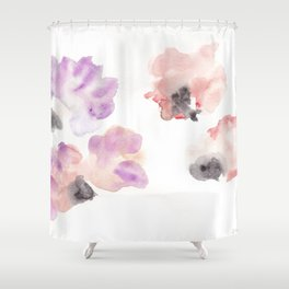180807 Abstract Watercolour 14| Colorful Abstract |Modern Watercolor Art Shower Curtain