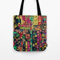 carnival Tote Bags featuring Carnival by Glanoramay