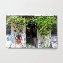 A Look Into Yesterday Metal Print