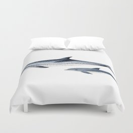 Atlantic spotted dolphin Duvet Cover