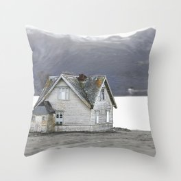 A home in Norway Throw Pillow
