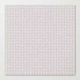 ROSE SEAMLESS BLUE Canvas Print