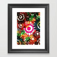 Hippy Shake! Framed Art Print