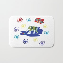 Save Us Polar Bears Bath Mat