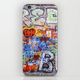 Prague's Wall iPhone Skin
