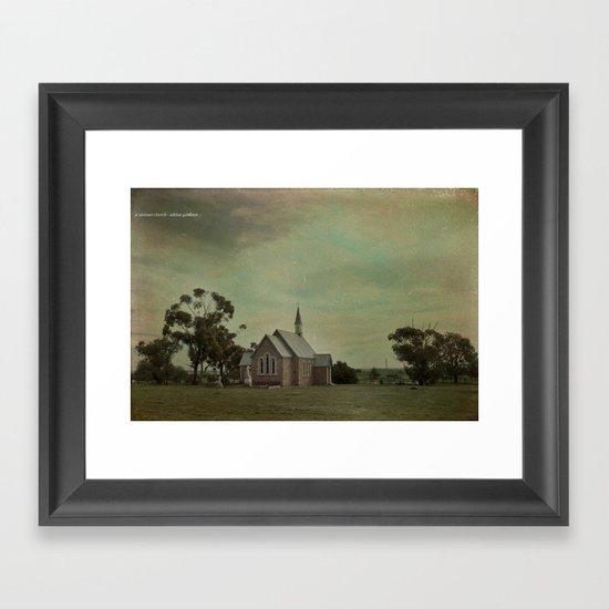 St Saviours Church Framed Art Print