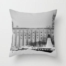 Terminal Throw Pillow