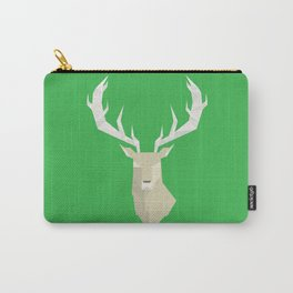 Geometric Stag Carry-All Pouch