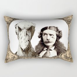"Lord Dundreary and ""The Thing"" Rectangular Pillow"